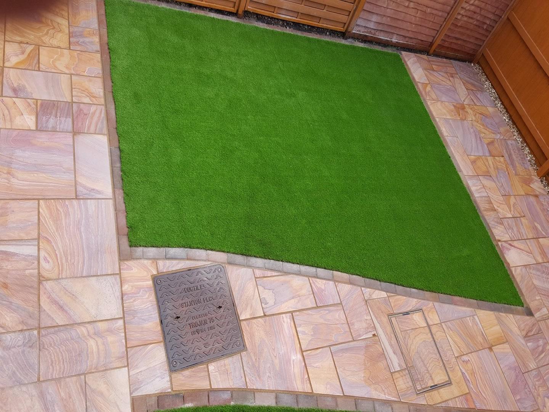 Garden Patio & Paving - 3P01